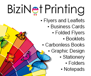Flyer Printing, Business Card Printing, Booklet Printing and Other Printing Services - BiziNet Printing